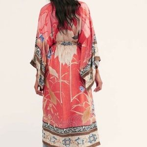 Figleaffashion Tops - ARRIVED! Bohemian Floral Maxi Duster